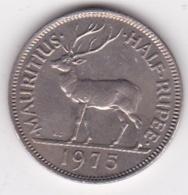 Ile Maurice 1/2 Rupee 1975 Elizabeth II. KM# 37 - Mauritius