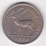 Ile Maurice 1/2 Rupee 1971 Elizabeth II. KM# 37 - Mauritius