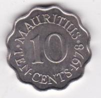 Ile Maurice 10 Cents 1978 Elizabeth II. KM# 33 - Mauritius