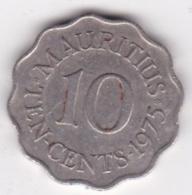Ile Maurice 10 Cents 1975 Elizabeth II. KM# 33 - Mauritius