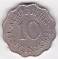 Ile Maurice 10 Cents 1971 Elizabeth II. KM# 33 - Mauritius