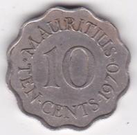 Ile Maurice 10 Cents 1970 Elizabeth II. KM# 33 - Mauritius