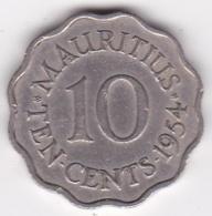 Ile Maurice 10 Cents 1954 Elizabeth II. KM# 33 - Mauritius