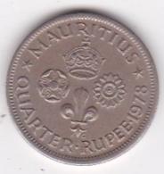 Ile Maurice, 1/4 Rupee 1978  Elizabeth II. KM# 36 - Mauritius