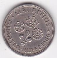 Ile Maurice, 1/4 Rupee 1960  Elizabeth II. KM# 36 - Mauritius