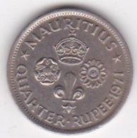 Ile Maurice, 1/4 Rupee 1971  Elizabeth II. KM# 36 - Mauritius