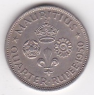 Ile Maurice 1/4 Rupee 1950 George VI. KM# 27 - Mauritius