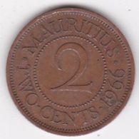 Ile Maurice , 2 Cents 1966 , Elizabeth II, KM# 32 - Mauritius