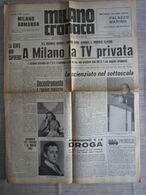 - MILANO CRONACA 17-06-1970 CARLO RIPA DI MEANA - PROF. RENZO GRATTAROLA - Libri, Riviste, Fumetti