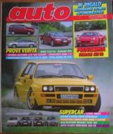 AUTO - N.9 - SETTEMBRE 1992 - ANNO VIII - BMW 730 8C - FERRARI 512 TR - SUBARU SVX - INNOCENTI ELBA 1.5 SW - Motori