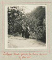 Le Fayet - Saint-Gervais-les-Bains (Haute-Savoie). Le Parc. Juillet 1925. - Places