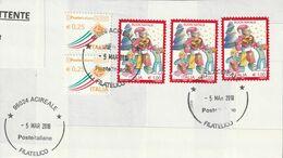 Storia Postale -  Usato Su Frammento (Natale Laico 2017)  - - 6. 1946-.. Republic