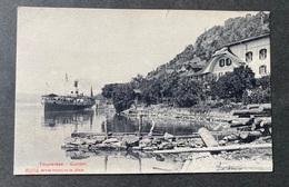 Gunten Thunersee Mit Dampschiff/ Zustand Beachten - BE Bern