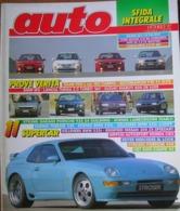 AUTO - N.10 - OTTOBRE 1992 - ANNO VIII - SAAB 900 CABRIO - BMW M5 - LANCIA THEMA 2.0 TURBO - AUTOBIANCHI Y10 1100 LX - Motori