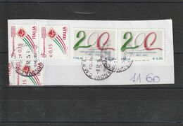 Storia Postale -  Usato Su Frammento (Corpo Di Polizia Penitenziaria)  - - 6. 1946-.. Republic