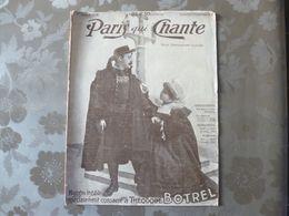 Théodore Botrel.  Paris Qui Chante.  30 Décembre 1906. - Musica Popolare