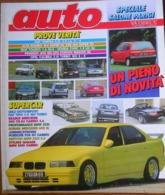 AUTO - N.11 - NOVEMBRE 1992 - ANNO VIII - OPEL CALIBRA TURBO 4X4 - HONDA CIVIC 1,5 LSi - SEAT TOLEDO 1.6 GLX - Motori