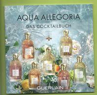 AQUA ALLEGORIA BOOKLETT  17 X 17 Cm - Cartes Parfumées
