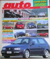 AUTO - N.12 - DICEMBRE 1992 - ANNO VIII - CITROEN ZX 16V - NISSAN MICRA 1,0 SLX VW VENTO 1,8 GL - VOLVO 850 GLT - Motori