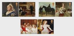 GROSSBRITANNIEN GRANDE BRETAGNE GB 2019 QUEEN VICTORIA BICENTENARY SET OF 6V MNH SG 4219-24 MI 4391-96 YT 4803-08 - Unused Stamps