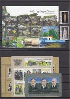 Faroe Islands 2007 - Full Year MNH ** - Faeroër