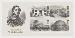 GROSSBRITANNIEN GRANDE BRETAGNE GB 2019 M/S THE LEGACY OF PRINCE ALBERT MNH SG MS4226-29 MI B123-4397-400 YT F4809-12 - Unused Stamps