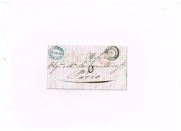 "Précurseur De Torino à Paris.Marque D'entrée ""SARD.Pont De B"" - 1. ...-1850 Prefilatelia"