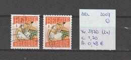 België 2007 - Yv. 3720 (2x) - OCB 3738/a Gest./obl./used - Belgium