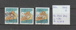 België 2007 - Yv. 3721 (3x) - OCB 3739/a/b Gest./obl./used - Belgium