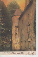 CPA Volkringen (Volkrange) - (Le Château) - Avec Cachet De Bevingen (Beuvange) Au Verso - France