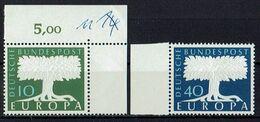 A100.105 // Deutschland 1957 // Mi. 268/269 ** // Europa - 1957