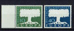 A100.104 // Deutschland 1957 // Mi. 268/269 ** // Europa - 1957
