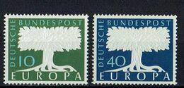 A100.103 // Deutschland 1957 // Mi. 268/269 ** // Europa - 1957