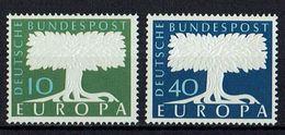 A100.101 // Deutschland 1957 // Mi. 268/269 ** // Europa - 1957