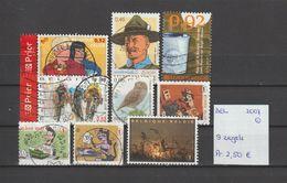 België 2007 - 9 Zegels Gest./obl./used - Belgium