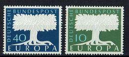 A100.100 // Deutschland 1957 // Mi. 268/269 ** // Europa - 1957
