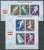 Burundi 1976 Olympische Winterspiele Innsbruck Block 90/91 B Postfrisch (C28041) - Burundi