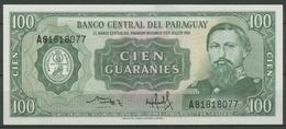 Paraguay 100 Guaranies 1982, KM 205 Kassenfrisch (K544) - Paraguay