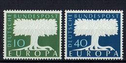 A100.099 // Deutschland 1957 // Mi. 268/269 ** // Europa - 1957