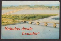 Ecuador - Postcard - Guayaquil - Puente Sobre El Río Guayas - Circa 1970 - Non Circulee - A1RR2 - Equateur