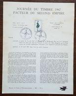 FDC Sur Document - YT N°1516 - JOURNEE DU TIMBRE - 1967 - 1960-1969