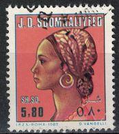 Somalie 1982 Oblitéré Used Somali Women Tête De Femme Somalienne - Somalia (1960-...)