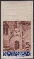 1936. ** Edifil: AYUNTAMIENTO DE BARCELONA 13s. SIN DENTAR - Barcelona