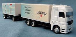 Werbe-Truck  -  Gerolsteiner  -  Dein Durst Kann Was Erleben - Autres