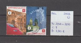 België 2008 - Yv. 3749 + 3750 - OCB 3767 + 3768 Gest./obl./used - Belgium