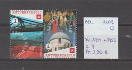 België 2008 - Yv. 3751 + 3752 - OCB 3769 + 3770 Gest./obl./used - Belgium