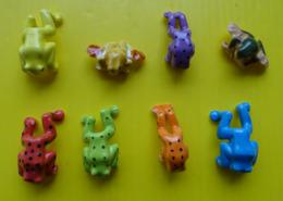Fève - Série Complète 2003 - Grenouilles Accroche Verre  - Grenouille - Animals