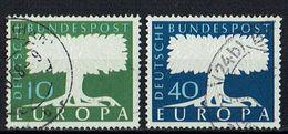 A100.094 // Deutschland 1957 // Mi. 268/269 O // Europa - 1957