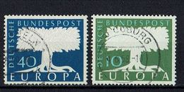 A100.093 // Deutschland 1957 // Mi. 268/269 O // Europa - 1957