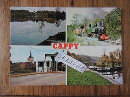 CAPPY - 4 VUES - TRAIN - Autres Communes